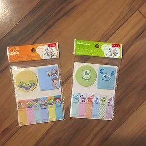 Disney Toy Story and Monsters Inc Sticky Notes